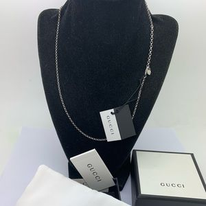 Gucci Italy 925 Chain 18 Inches Long